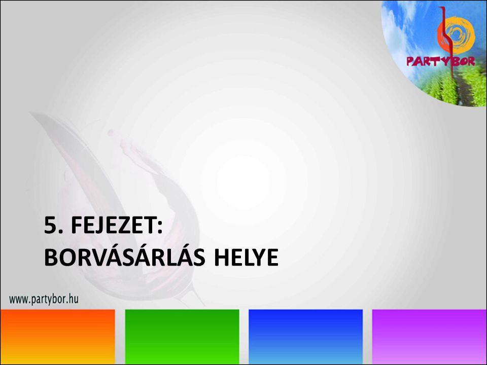 5. FEJEZET: BORVÁSÁRLÁS HELYE