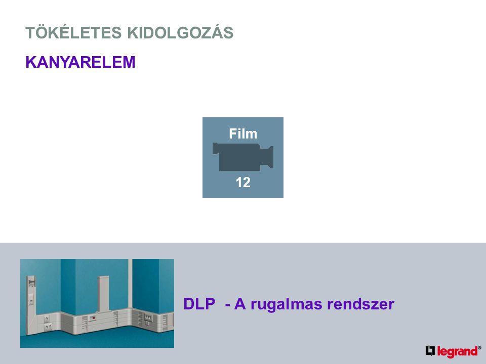 TÖKÉLETES KIDOLGOZÁS KANYARELEM DLP - A rugalmas rendszer Film 12