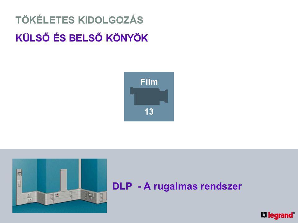 TÖKÉLETES KIDOLGOZÁS KÜLSŐ ÉS BELSŐ KÖNYÖK DLP - A rugalmas rendszer Film 13