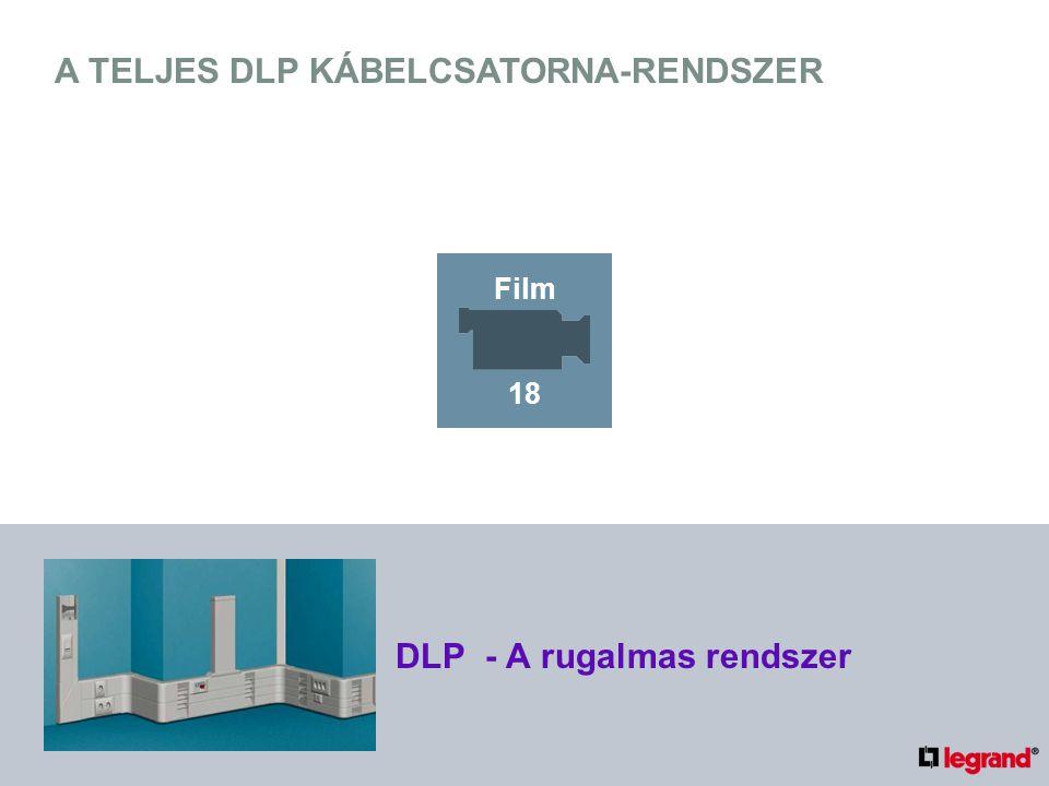 A TELJES DLP KÁBELCSATORNA-RENDSZER DLP - A rugalmas rendszer Film 18