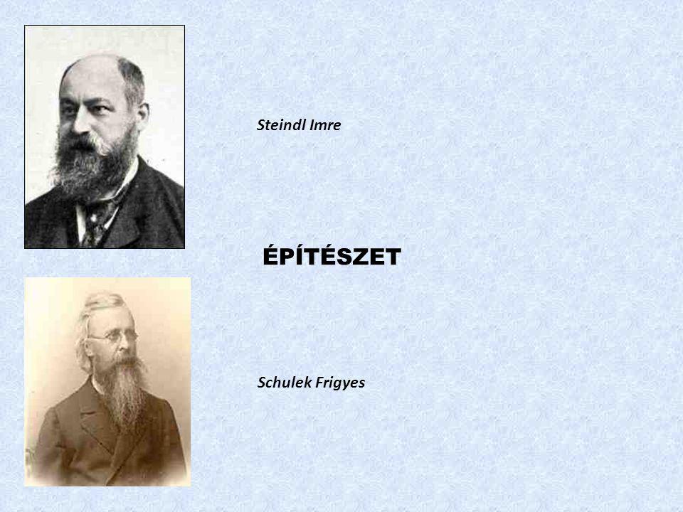 Steindl Imre ÉPÍTÉSZET Schulek Frigyes