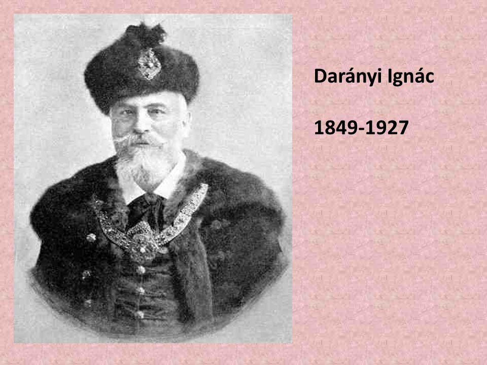 Darányi Ignác 1849-1927
