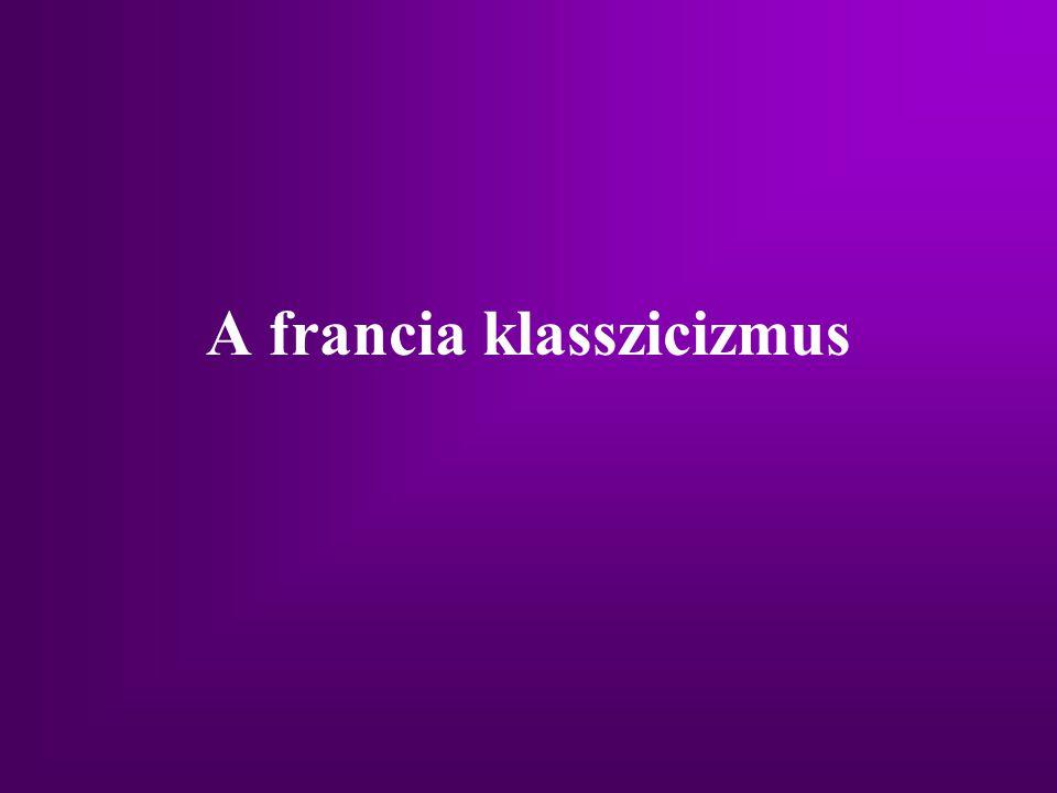 A francia klasszicizmus