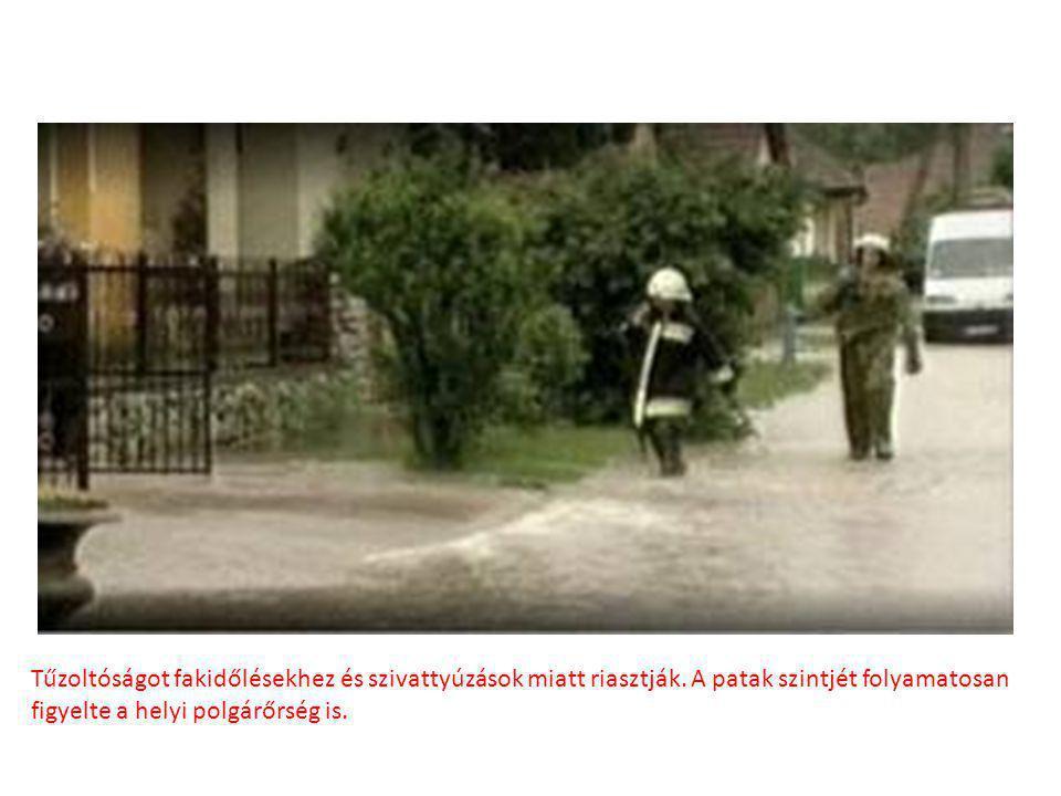 A Dera-patak áradása okozta a legtöbb problémát Pomázon 2010 tavaszán, a szélsőséges időjárásnak köszönhetően. Több mint 10 éve nem volt ekkora áradás