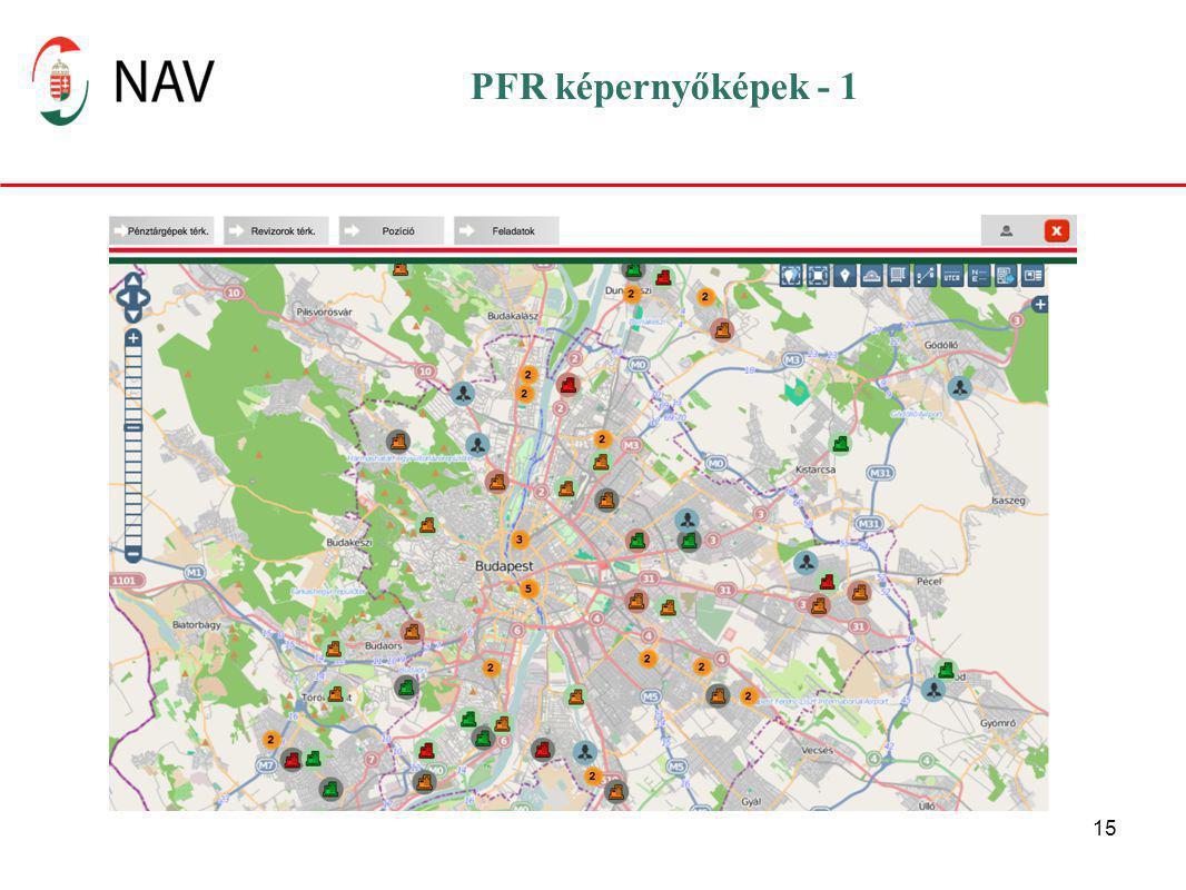 15 PFR képernyőképek - 1
