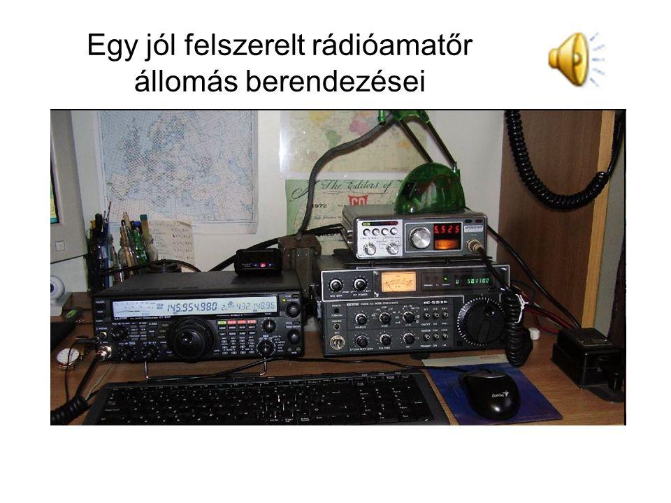 Egy jól felszerelt rádióamatőr állomás berendezései
