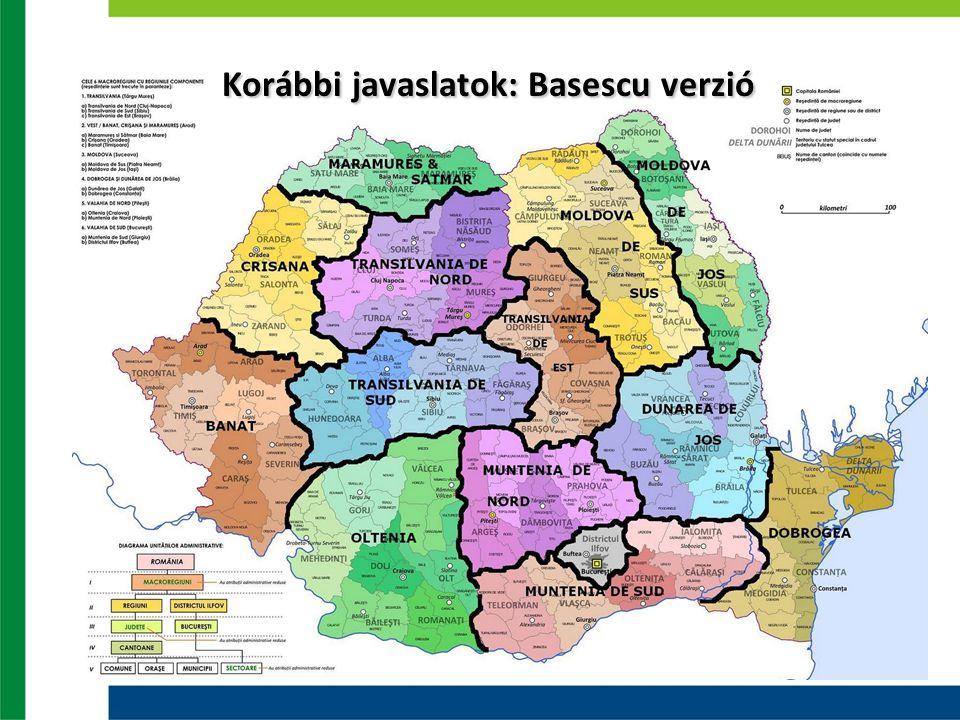 Korábbi javaslatok: Basescu verzió