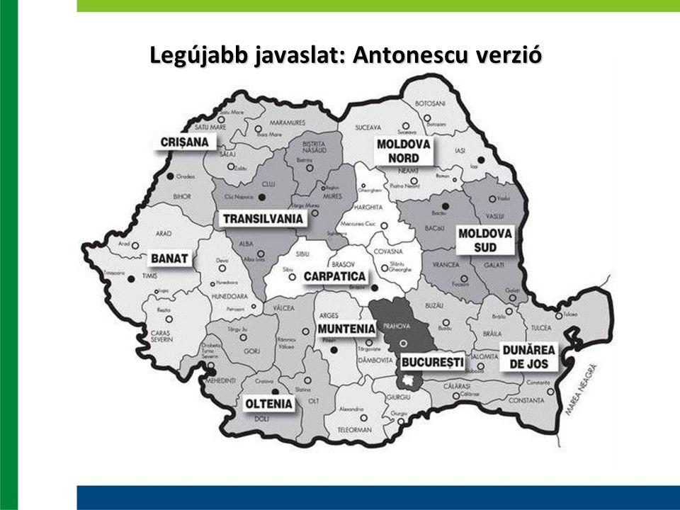 Legújabb javaslat: Antonescu verzió