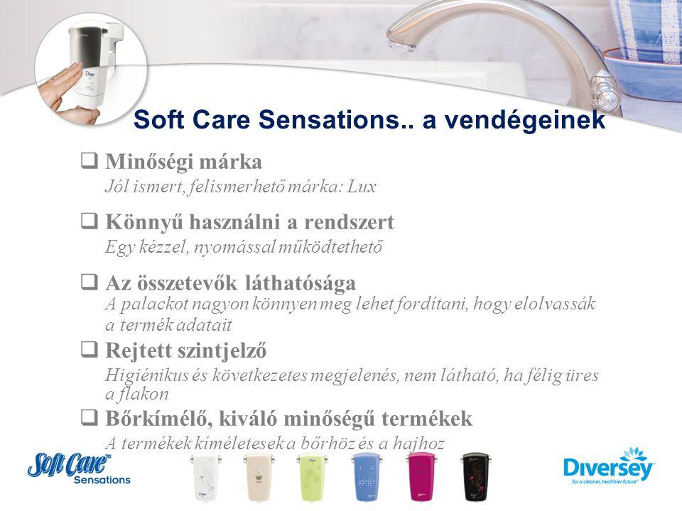 Soft Care Sensations termékek  Lux 2in1 Sampon és tusfürdő  Lux Krémszappan