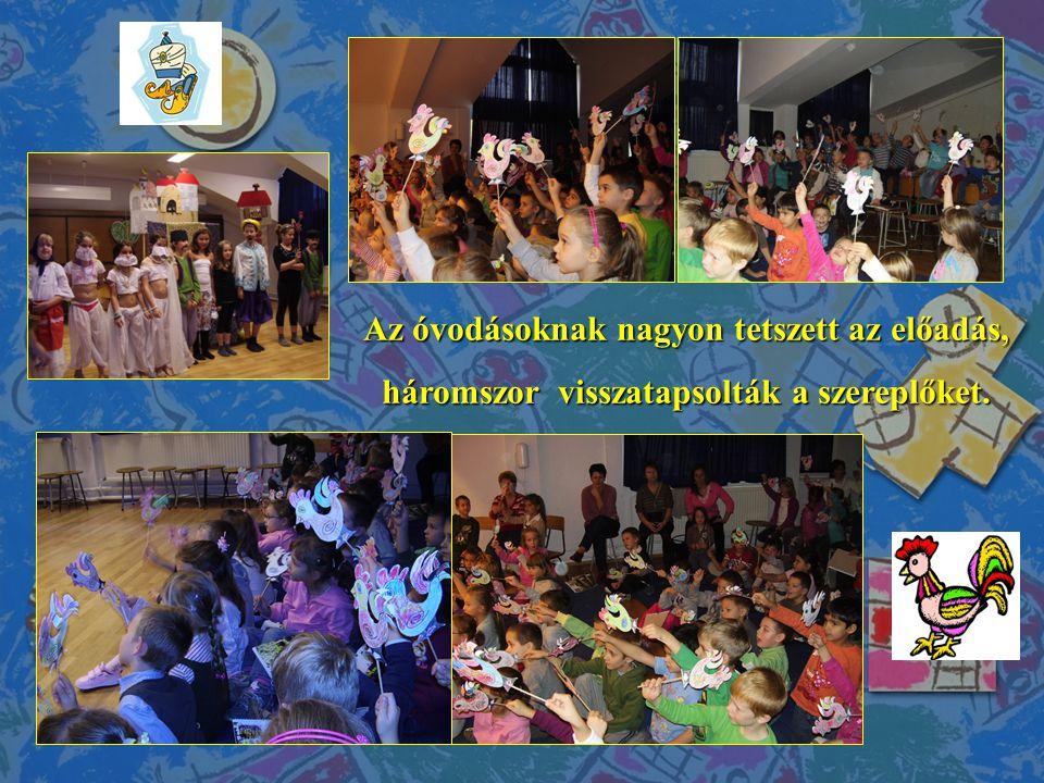 Mozogjunk együtt.Nagysikerű óvodás rendezvényre került sor az Irinyi Iskolában 2013.