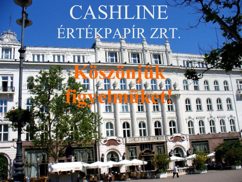 Cashline 2006 Jegyzett tőke: 1.000.000.000 HUF Ügyfél állomány:11.469.702.713 HUF Alapítva: 1994.