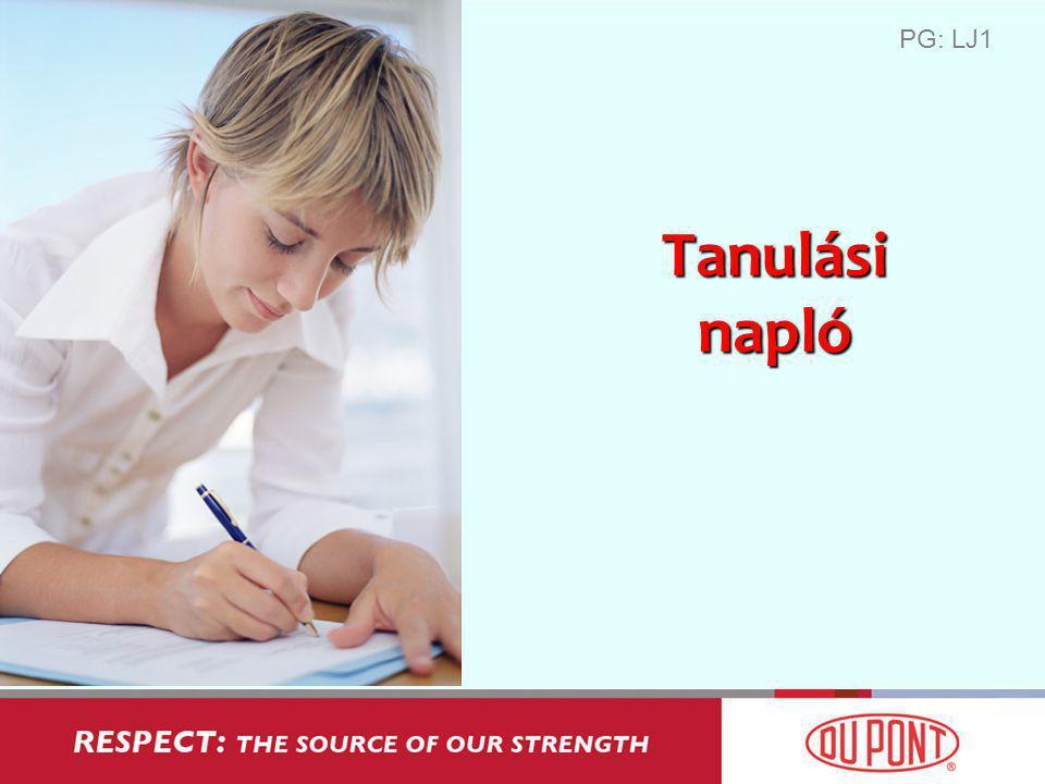 Tanulási napló PG: LJ1