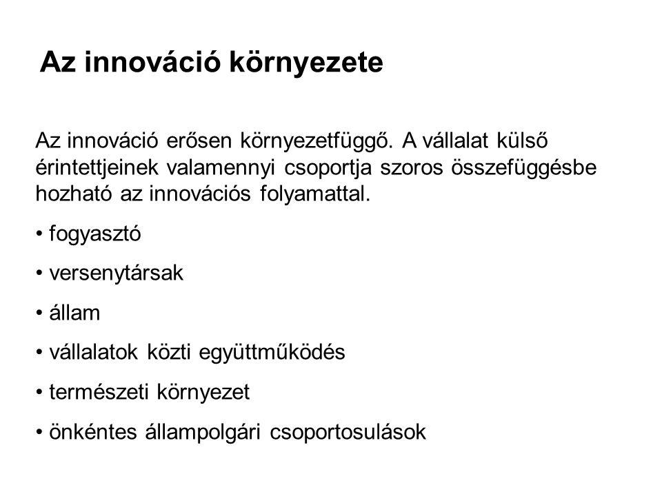 A termékfejlesztés lépései 1.Ötletgyűjtés 2.Érdemes megvalósítani.