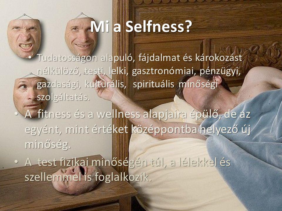 Mi a Selfness? Tudatosságon alapuló, fájdalmat és károkozást nélkülöző, testi, lelki, gasztronómiai, pénzügyi, gazdasági, kulturális, spirituális minő