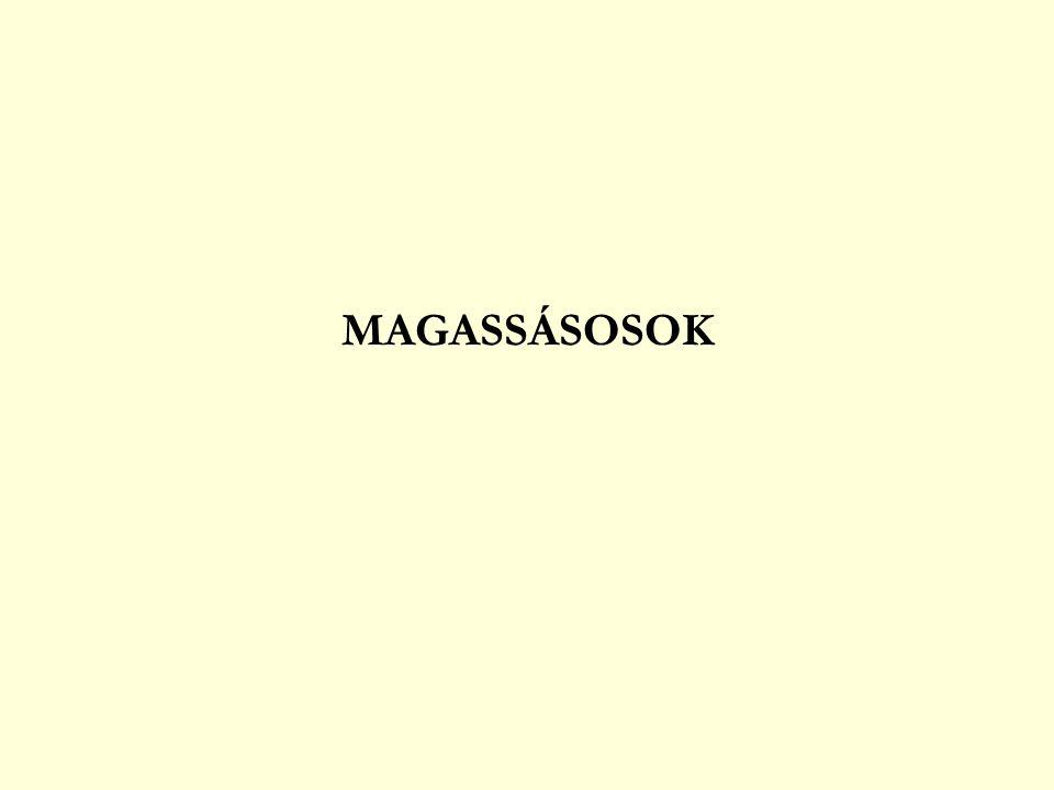 MAGASSÁSOSOK