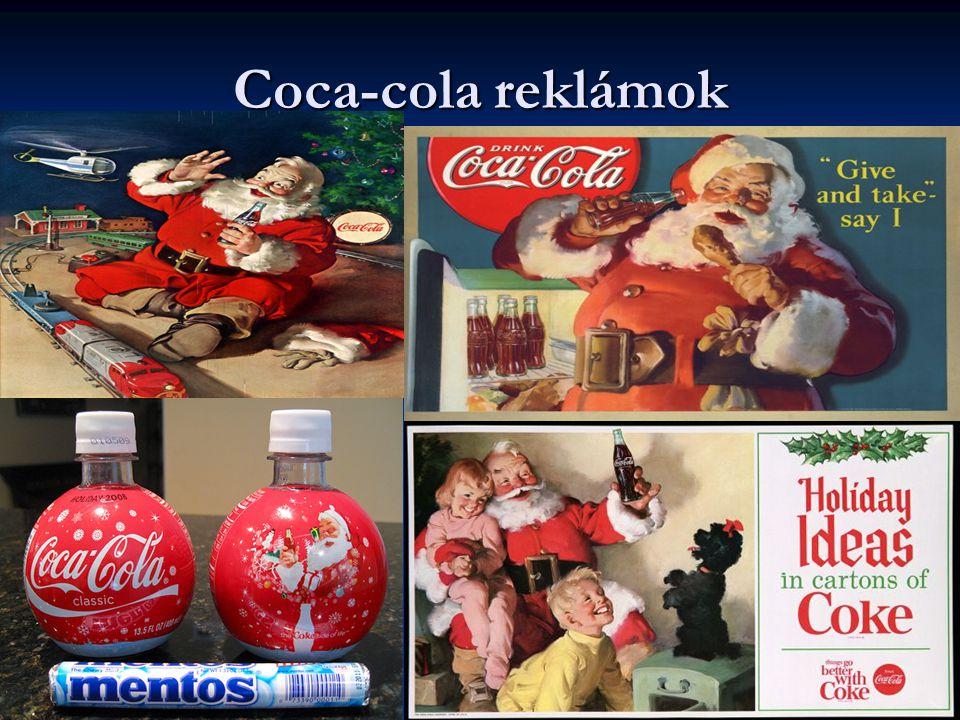Coca-cola reklámok