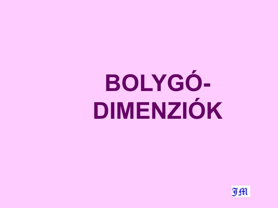 BOLYGÓ- DIMENZIÓK