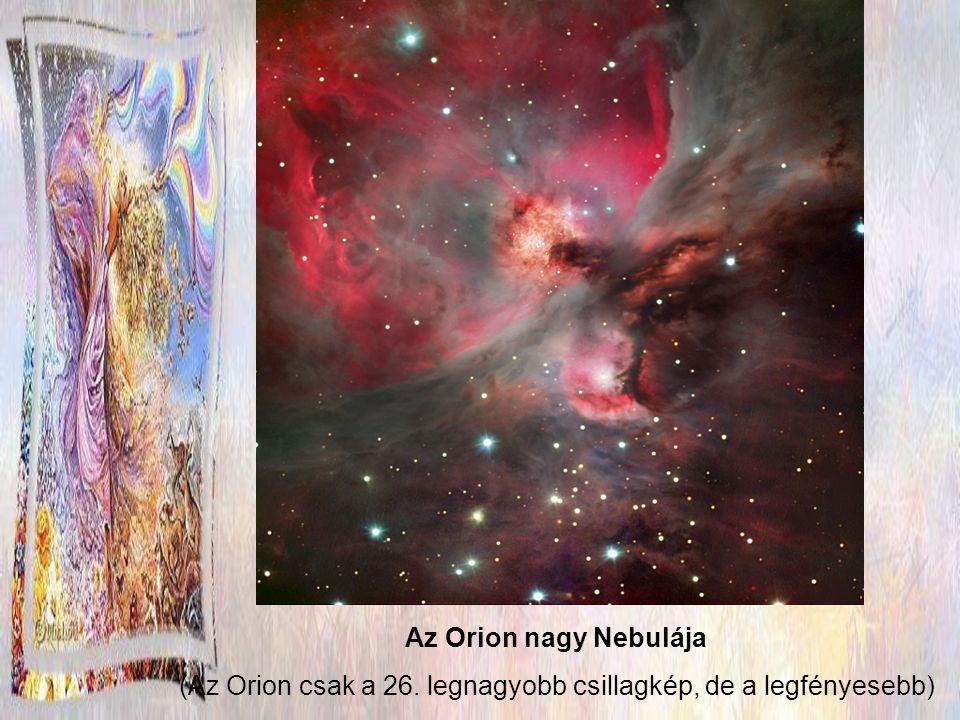 Az Orion leghíresebb és leglátványosabb objektuma a híres Orion-köd, más néven M42.