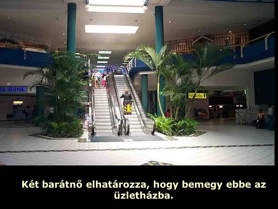 Ria Slides De van egy szabály: Ha már egyszer elhagytad az emeletet, nem mehetsz vissza.