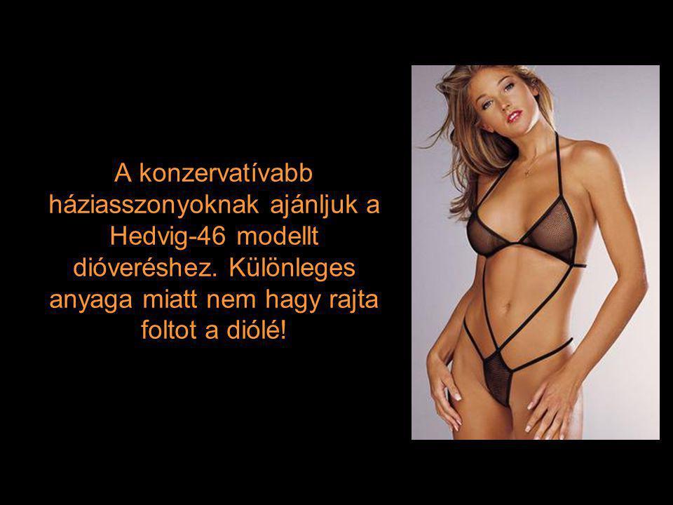 A konzervatívabb háziasszonyoknak ajánljuk a Hedvig-46 modellt dióveréshez.