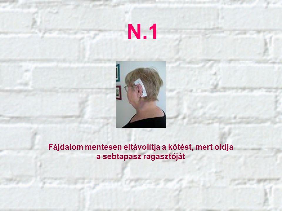 N.11 A láz enyhítéséreLábszag meg szüntetésére Csípések okozta fájdalmak enyhítésére Fájdalom csillapításra