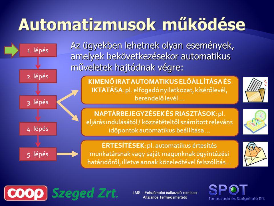 LMS – Felszámolói iratkezelő rendszer Általános Termékismertető
