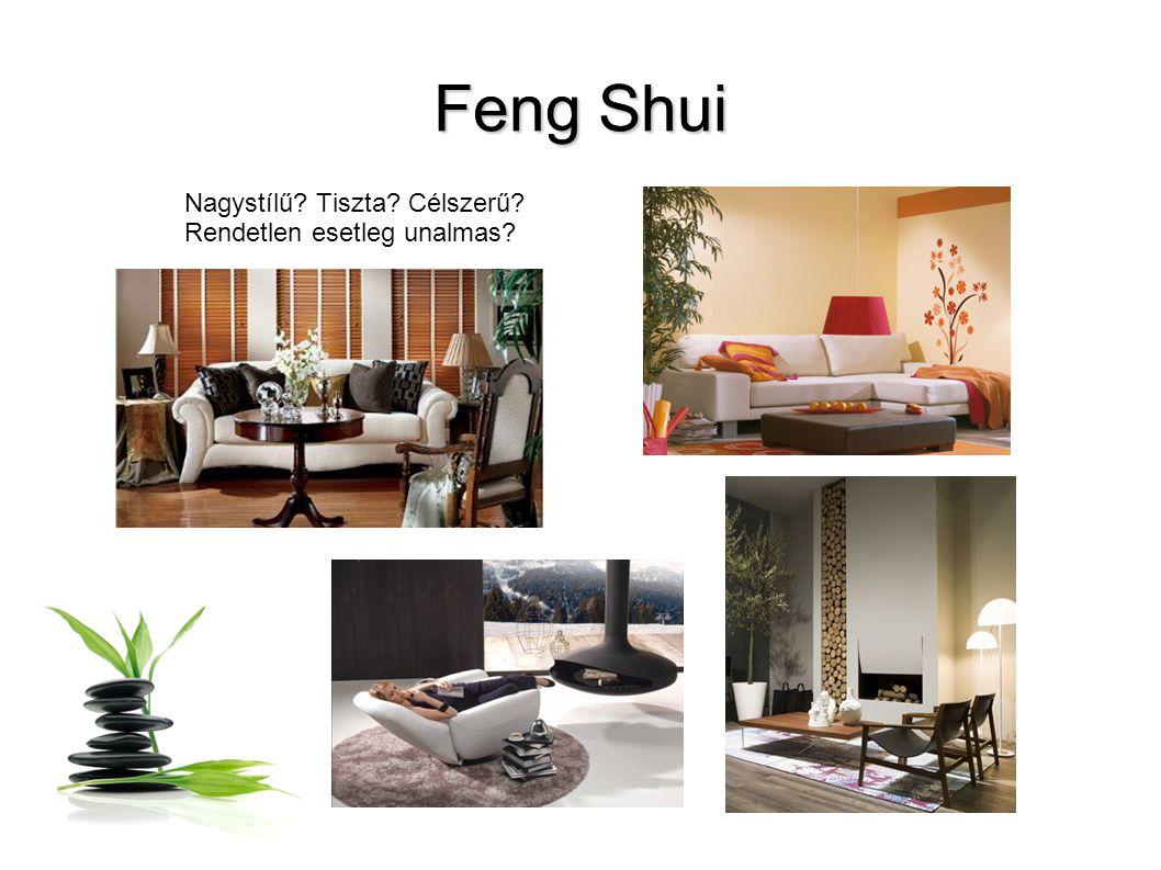 Feng Shui Nagystílű Tiszta Célszerű Rendetlen esetleg unalmas