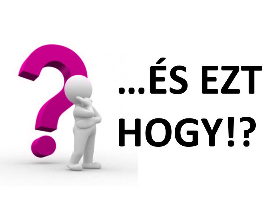 …ÉS EZT HOGY!?