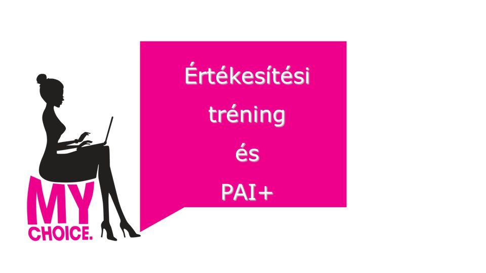 Értékesítési tréning ésPAI+