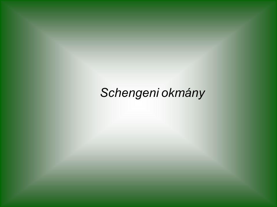 Schengeni okmány