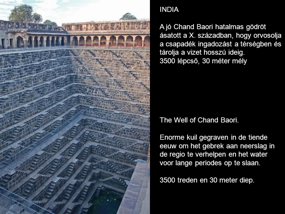 The Well of Chand Baori.