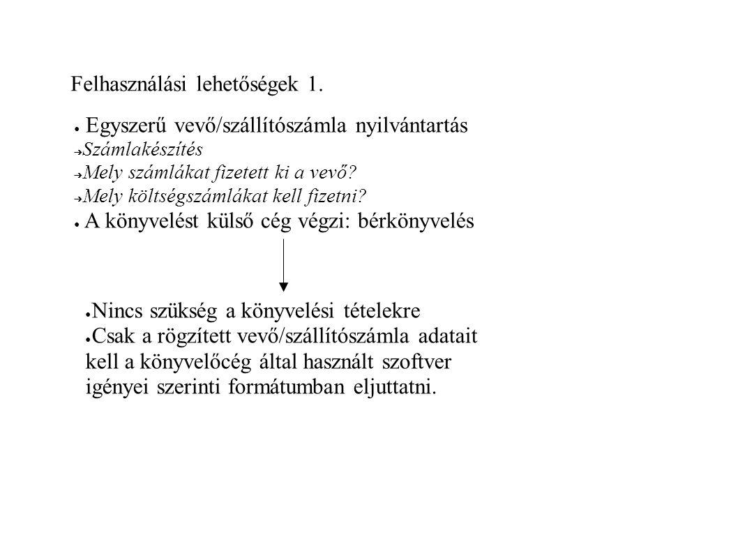 Honosított verzió ● Fordítás ➔ locale/hu/all ➔ Locale/hu/missing ➔ locale/hu/@locales.pl ● Számlakészítés ➔ Magyar sajátosság ➔ PM rendelet : számlakellékek, szigorú sorszámozás ➔ A program honosított verziója : http://www.investor.hu ● Felelősségvállalás ➔ Felelősségi nyilatkozat: a szoftver megfelel az adótörvényeknek ➔ Szabad szoftverek : módosítható ➔ Átadott verzió sérthetetlensége: digitális ujjlenyomat, aláírás
