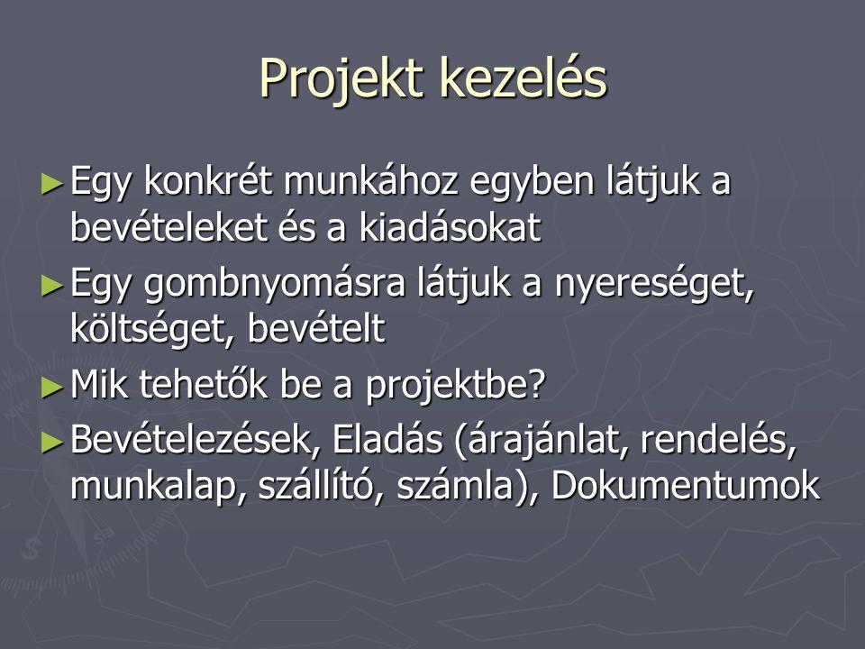 Dokumentumok kezelése ► Dokumentum sablonok készítése (pl.