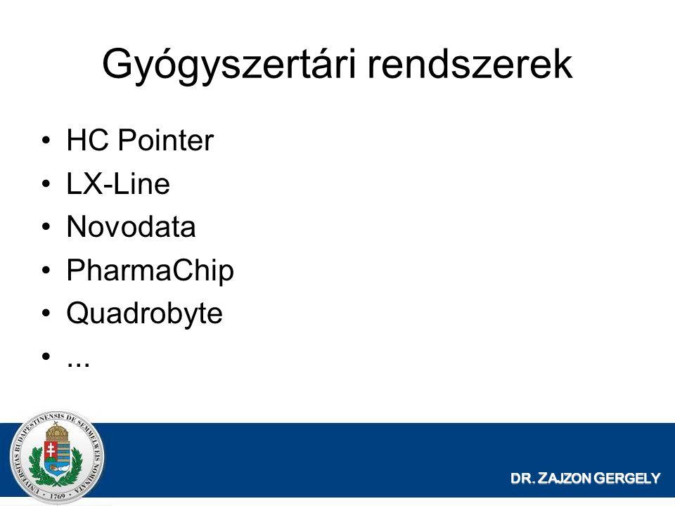 Gyógyszertári rendszerek HC Pointer LX-Line Novodata PharmaChip Quadrobyte...