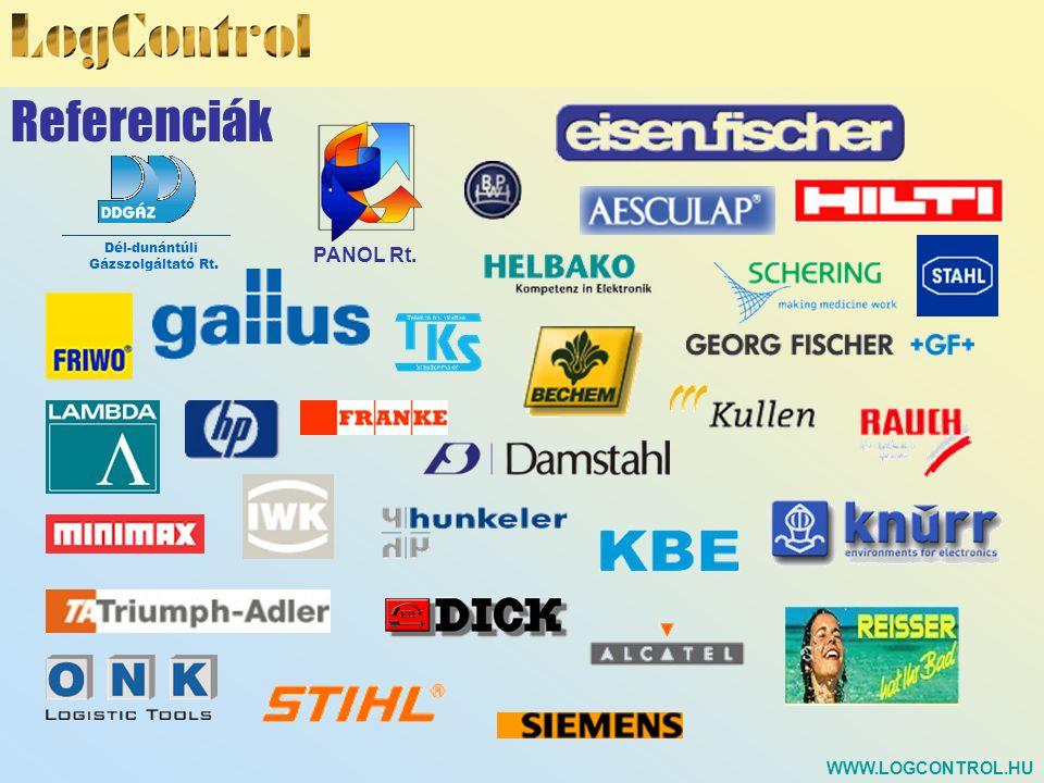 Új módszerek, analízisek ASP (Application Service Providing) SCM Controlling Globális Logisztikai Szolgáltatás cégek részére WWW.LOGCONTROL.HU Fejlődési irány