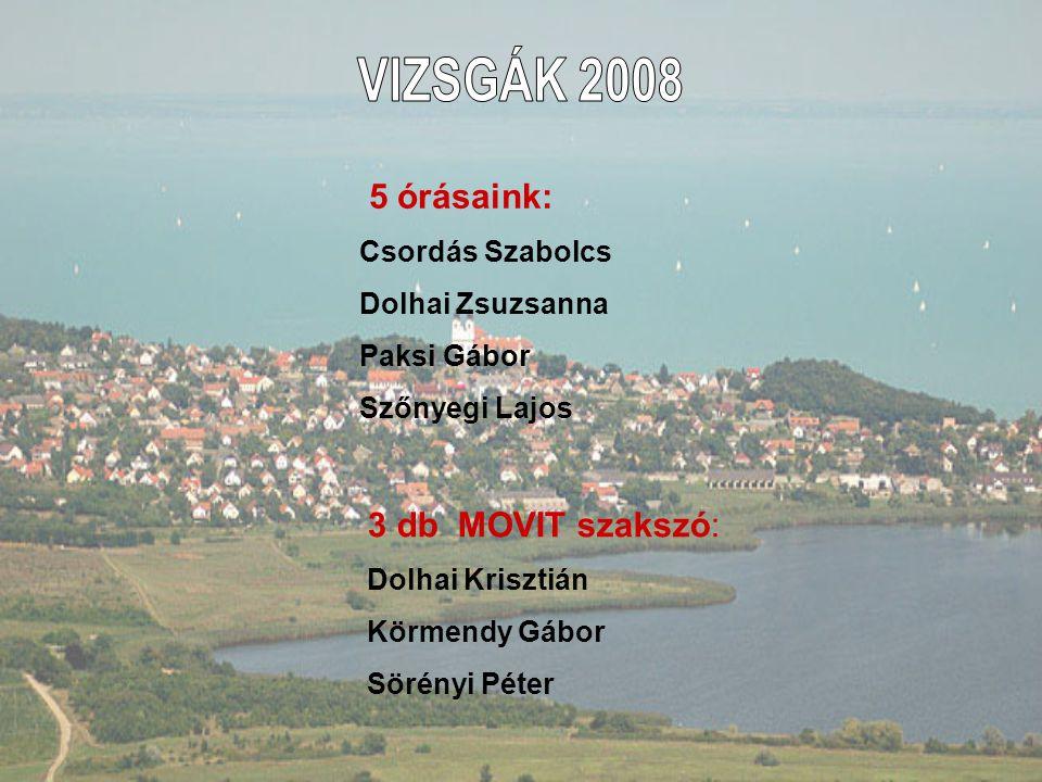 -Tagdíj + szakosztályi hozzájárulás 17400 Ft/ félév fizetendő: 2009.