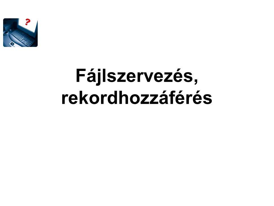Kétszintű index Balogh Császár Fazekas Galambos Horváth Huszár Király Kiss Kovács Lovász Mecseki Nagy Németh Balogh Nagy Török Zalai Balogh Galambos Kiss Nagy Szabó indextáblázat (1.