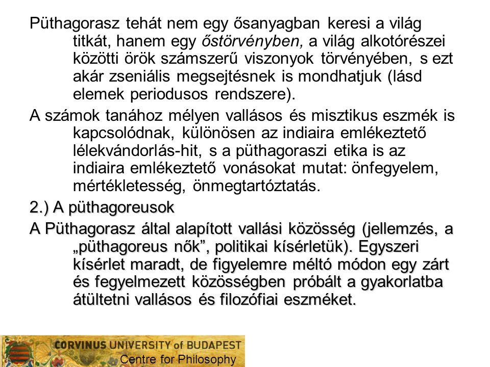 III.Az eleaiak 1. Xenophanész Kb. Kr.e.