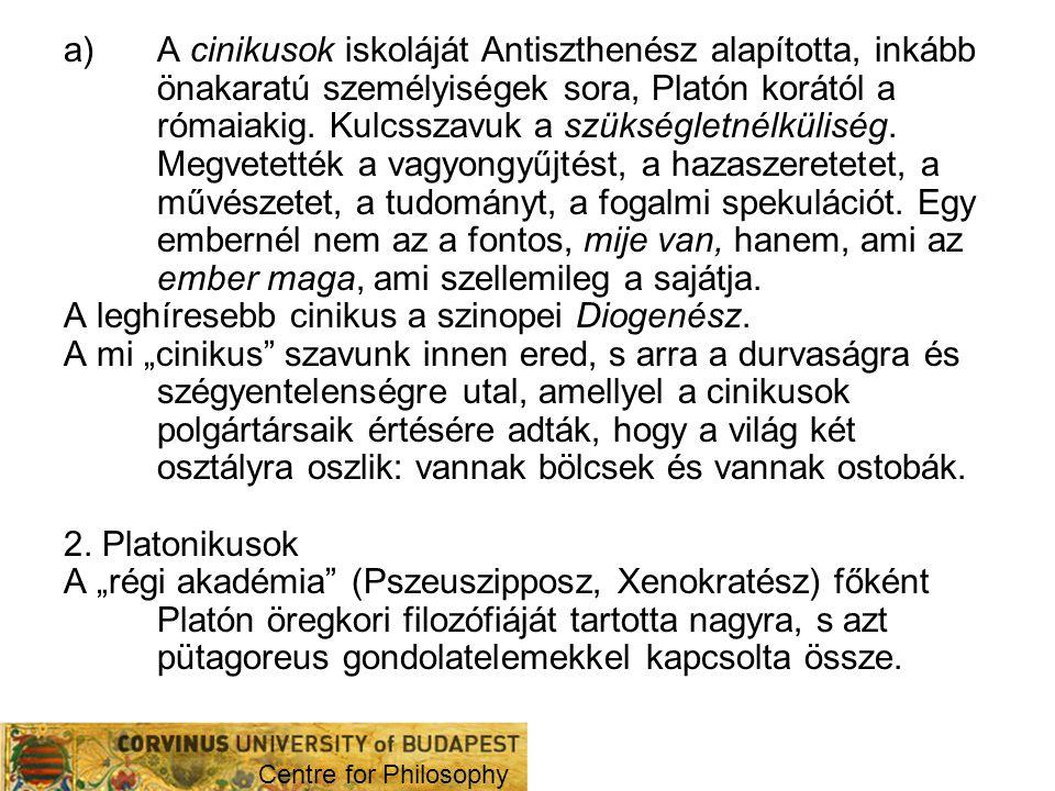 Az Akadémia Kr.e.