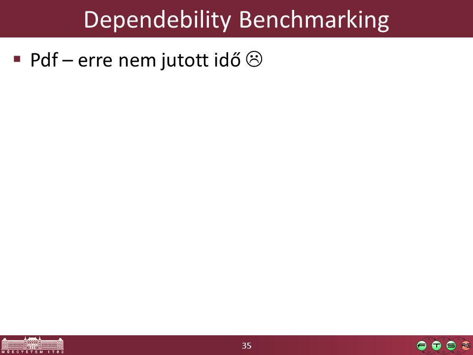 35 Dependebility Benchmarking  Pdf – erre nem jutott idő 
