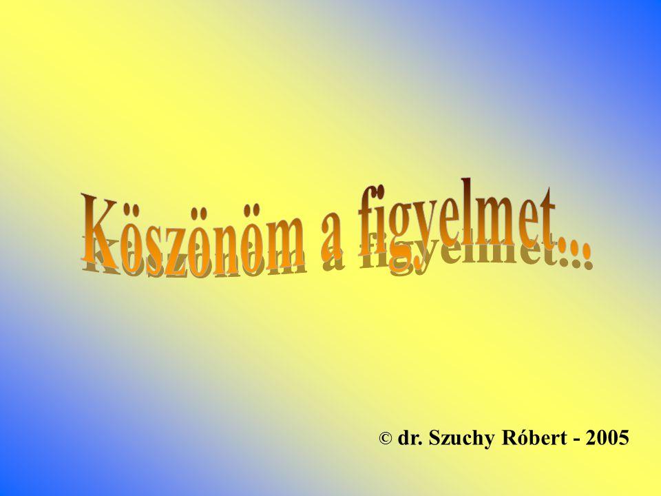 © dr. Szuchy Róbert - 2005