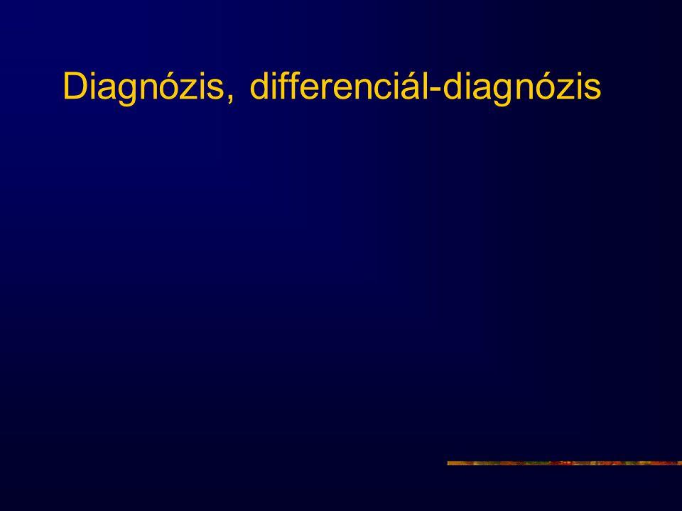 Diagnózis, differenciál-diagnózis