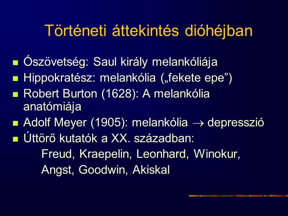 Lényges változások a tanfolyam utáni 2-3 évben Gotland Svérodszág Szuicid halálozás60% ↓ ↑ Depresszió miatti75% ↓ ↑ kórházba utalás Depresszió miatti50% ↓ ↑ betegállomány Antidepresszivumok50% ↑ ↑ Neuroleptikumok, anxiolitikumok25% ↓ ↑ Rutz et al.
