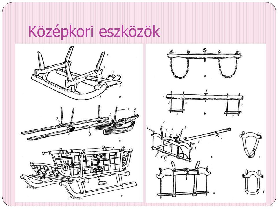 Középkori eszközök