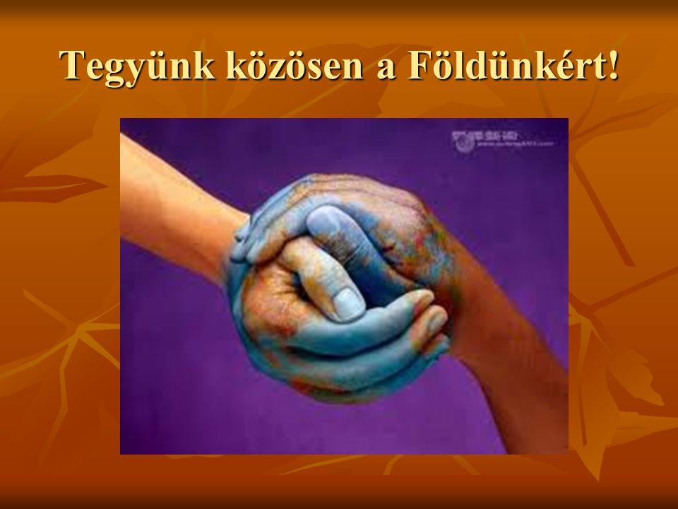 Tegyünk közösen a Földünkért!
