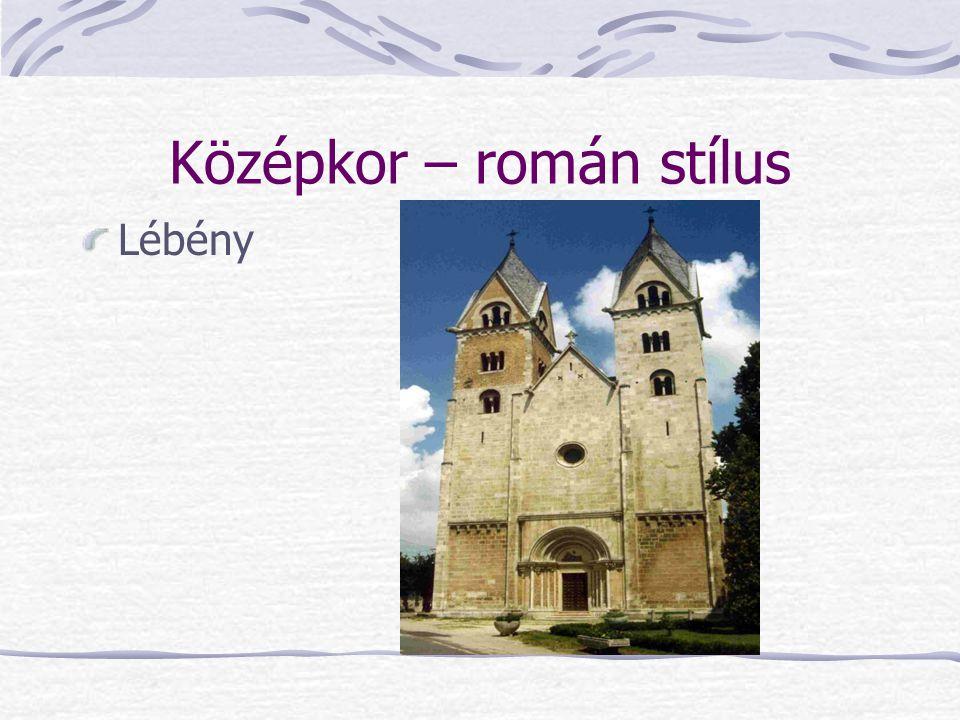 Középkor – román stílus Lébény