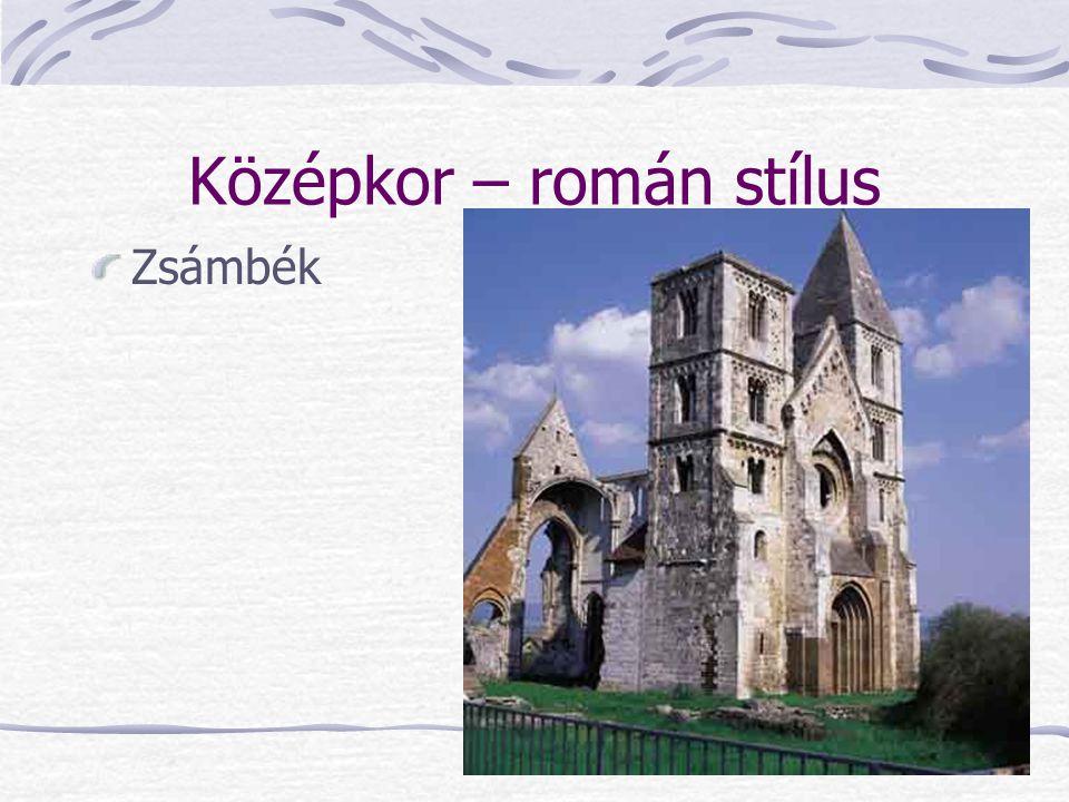 Középkor – román stílus Zsámbék