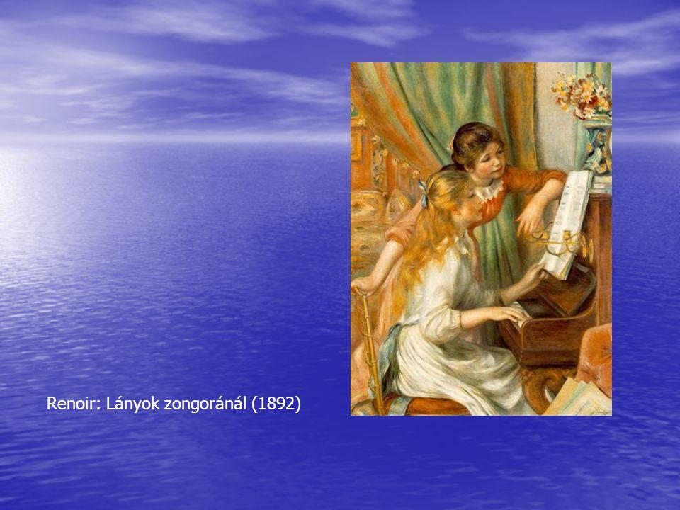 Renoir: Lányok zongoránál (1892)