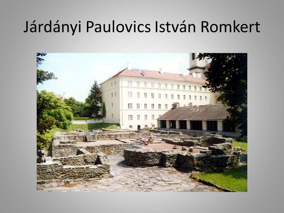 Járdányi Paulovics István Romkert