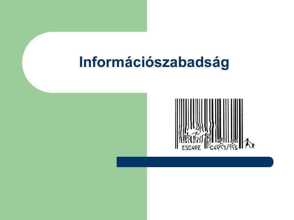 Információszabadság
